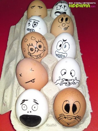 Приколы с яицами