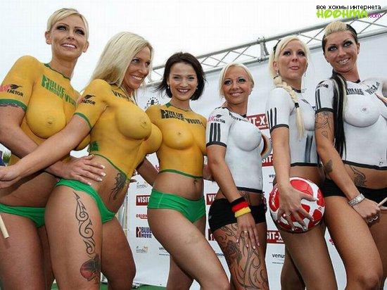 Порно и футбол